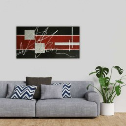 bild wandbild geometrie abstrakte malerei kunst