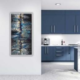 abstraktes bild kunst malerei bild wandbild