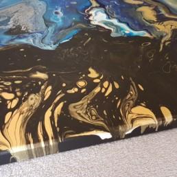 Bilder schwarz gold blau deatil bildergalerie