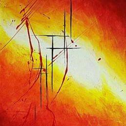 LichtRaum Bilder abstrakte Gemälde 40x50