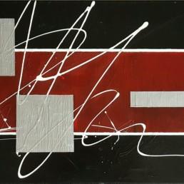 MaraArt Bilder abstrakte Gemaelde geometrisch 40x80