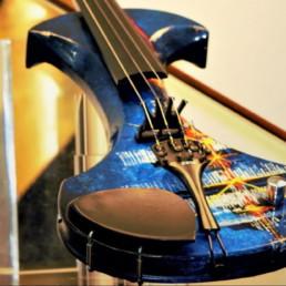 Geige unikat handbemalt